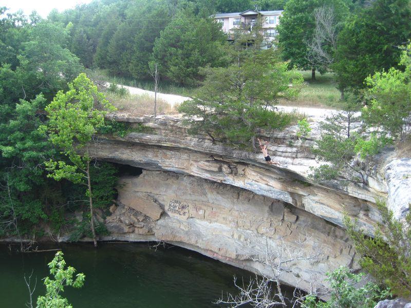 Cliff in arkansas